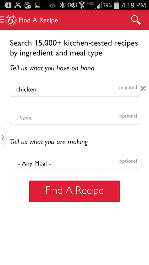 The Betty Crocker® Cookbook - screenshot