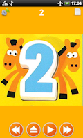 Screenshot of ABC Numbers Colors for Kids