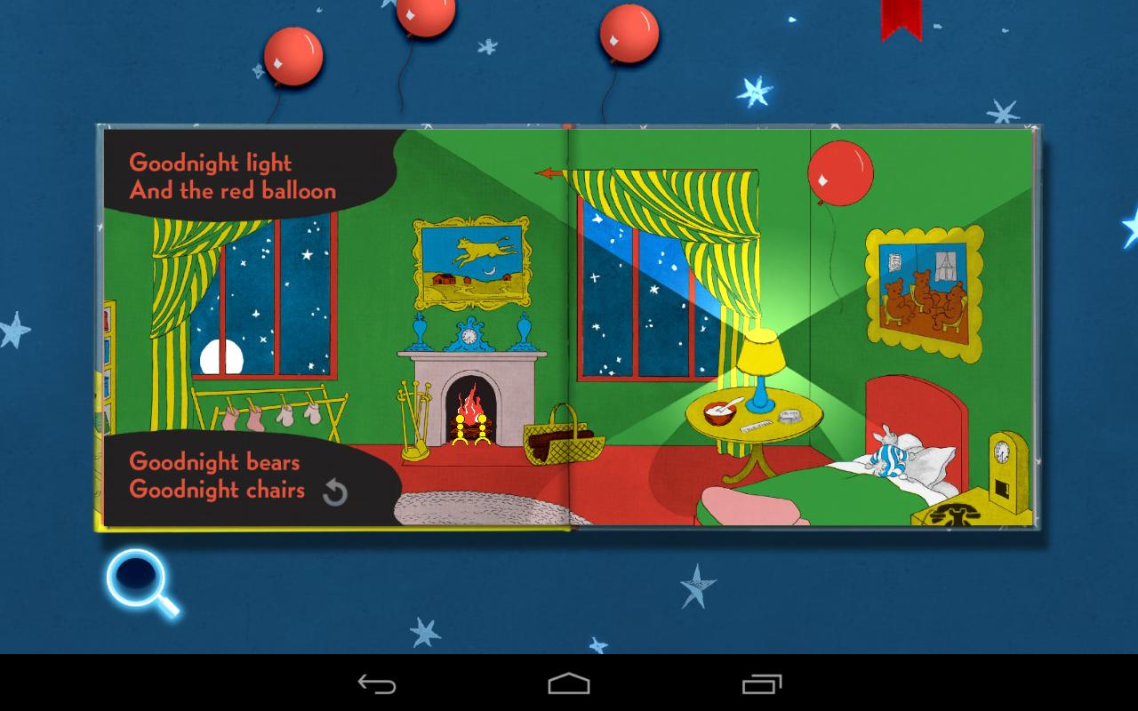 Goodnight Moon - Classic interactive bedtime story- screenshot