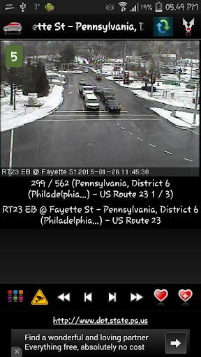 Cameras Pennsylvania - Traffic  screenshots 1