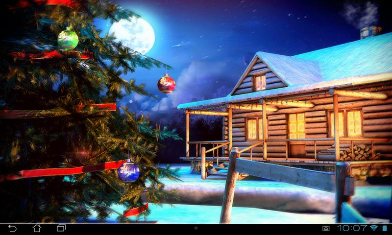 christmas 3d live wallpaper android apps on google play. Black Bedroom Furniture Sets. Home Design Ideas