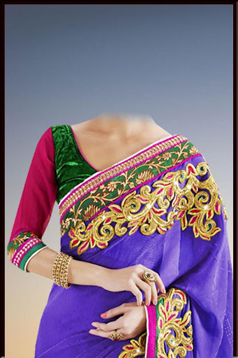 Woman Saree Photo