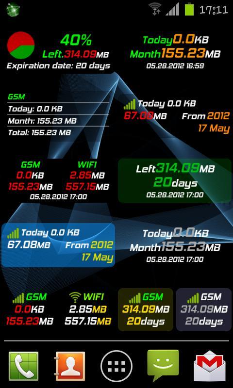 Mobile Counter Pro - 3G, WIFI- screenshot