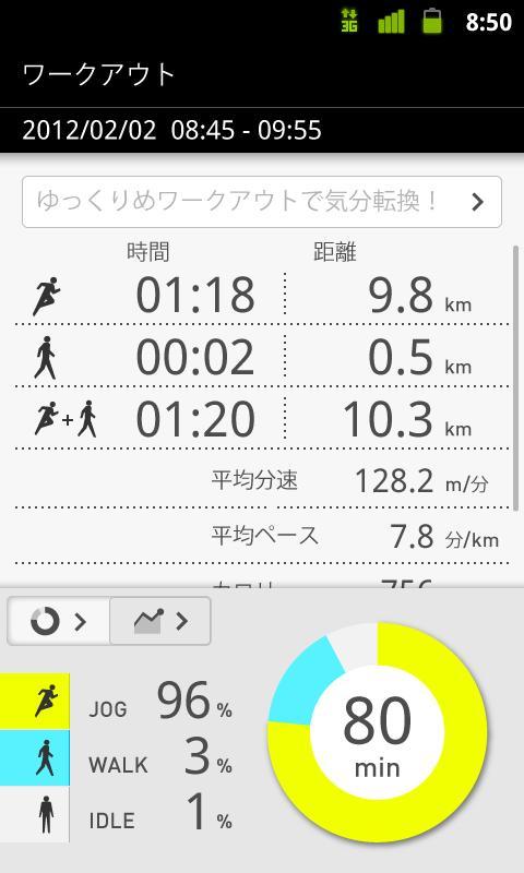Jog style アプリ:ジョギング、ワークアウト- screenshot
