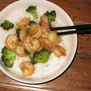 Garlic Shrimp Stir-Fry.