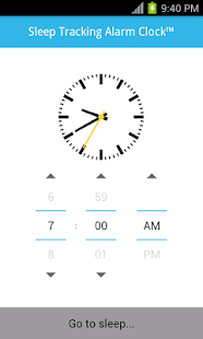 Sleep Tracking Alarm Clock- screenshot thumbnail