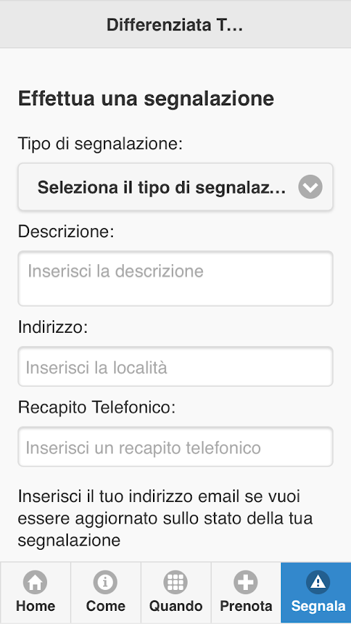 Differenziata Termoli- screenshot