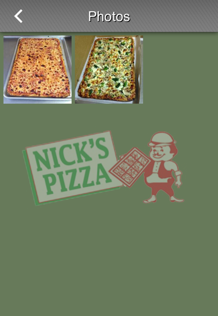 Nick's pizza coupons