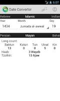 Screenshot of Date / Calendar Converter Full