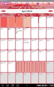 WomanLog Pro Calendar v2.1.4 [30042]