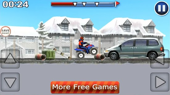 ATV Extreme Winter Free- screenshot thumbnail