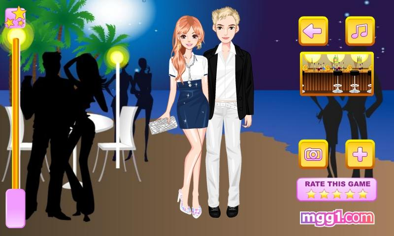 Romantic Summer Date Dress Up - screenshot