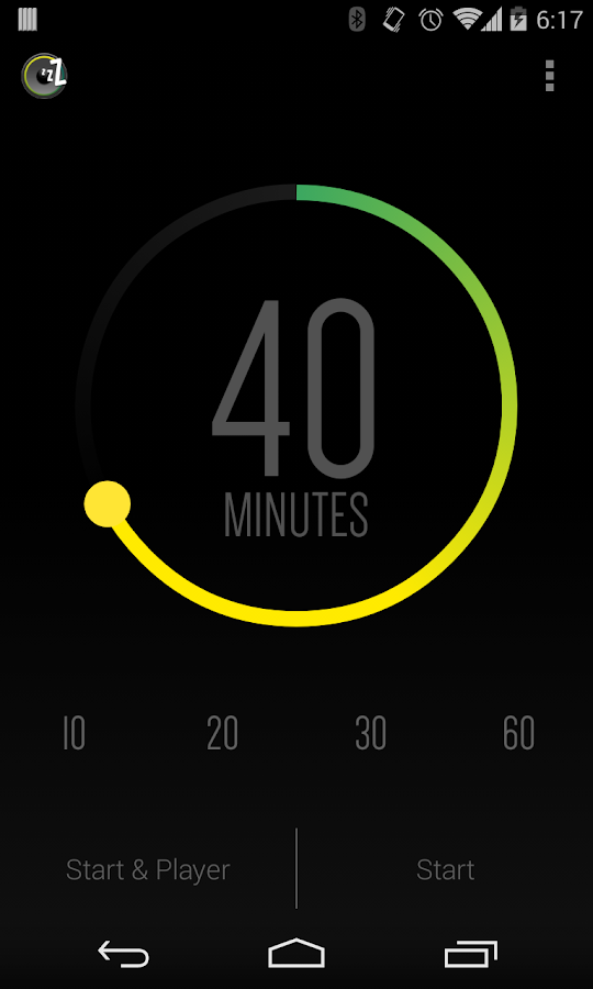 Sleep Timer (Turn music off)- screenshot