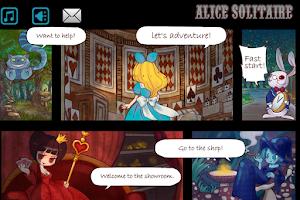 Screenshot of Alice Solitaire