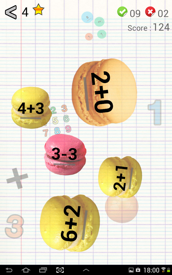 AB Math - cool games for kids - screenshot