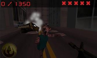 Screenshot of hunter of city zombies