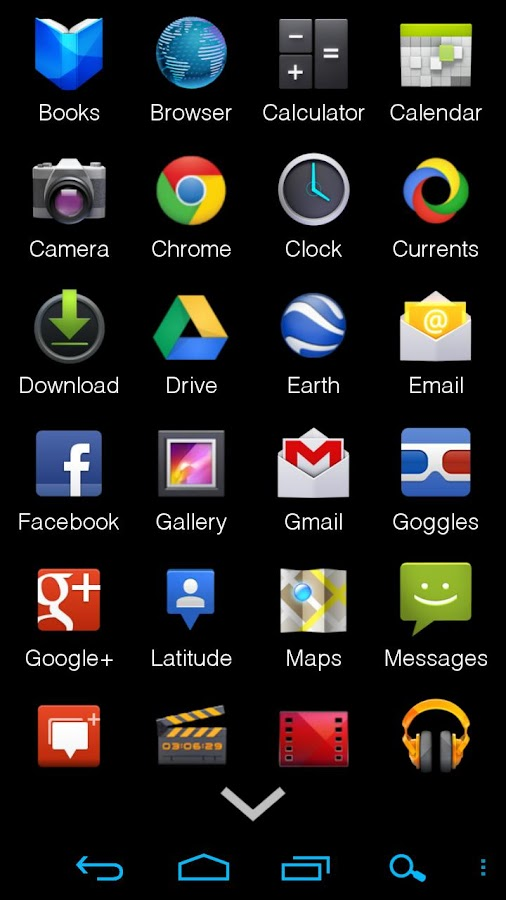 AppDrawer (MIUI App Drawer)- screenshot