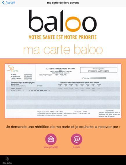 baloo – Capture d'écran