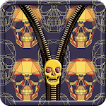 Skullz Zipper Screen Lock