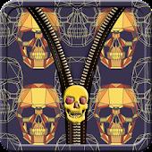 Skullz Zipper Screen Lock