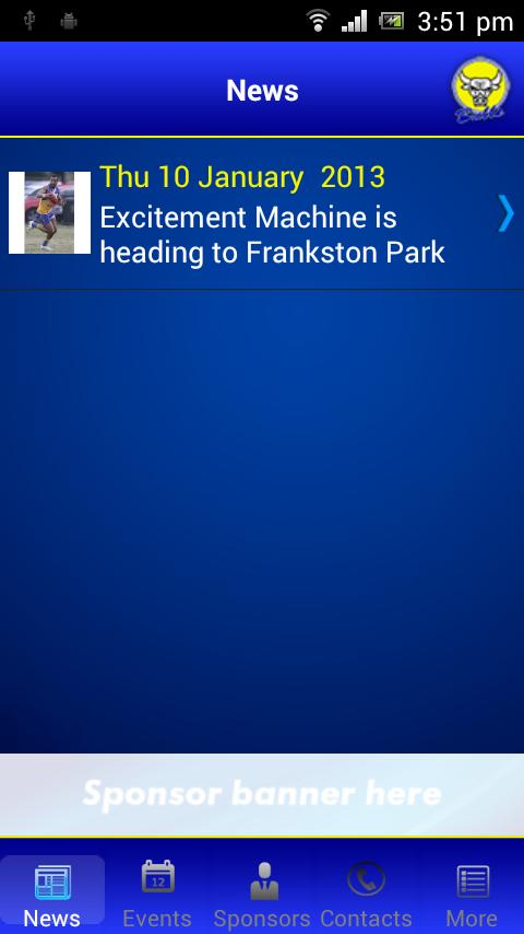 Noble Park Football Club - screenshot