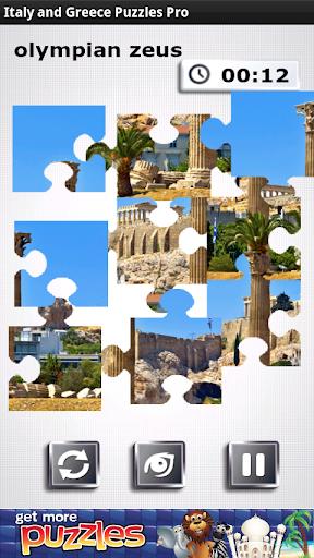 Italy Greece Puzzles Pro