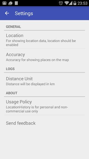 Location History 2.3.9 screenshots 7