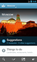 Screenshot of Moscow Travel Guide