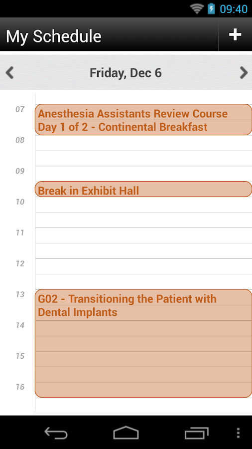AAOMS 2013 Dental Implant - screenshot