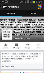 Nancy Jazz Pulsations Capture d'écran