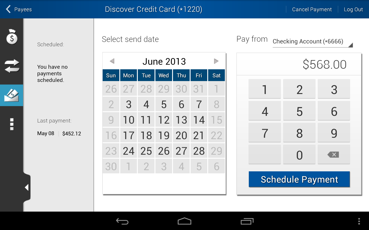 FCFCU Mobile - screenshot