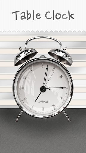 【免費生活App】Classic Table Clock Free-APP點子