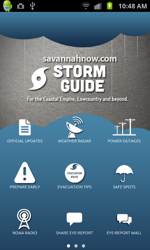 Storm Guide by savannahnow.com - screenshot