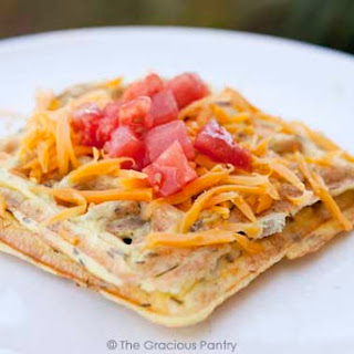 Clean Eating Waffle Iron Omelets.