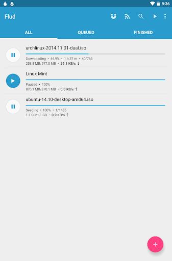 Flud - Torrent Downloader 1.4.9 screenshots 9