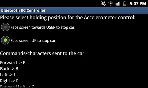 Arduino Bluetooth RC Car - screenshot thumbnail