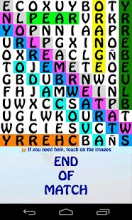 Learn Spanish Word Search Game - screenshot thumbnail