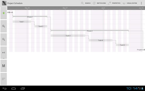 Project Schedule - screenshot thumbnail