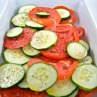 Simple Summer Salad.