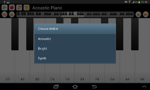 Real Piano and Keyboard- screenshot thumbnail
