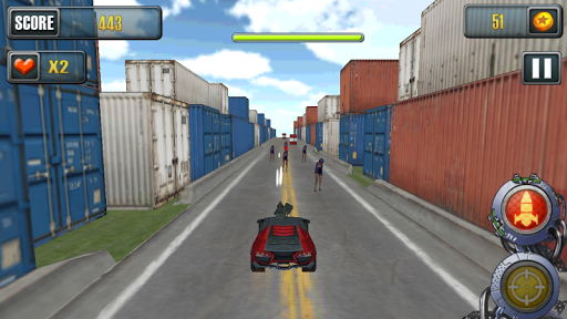 Death Racing Car Gun Shoot