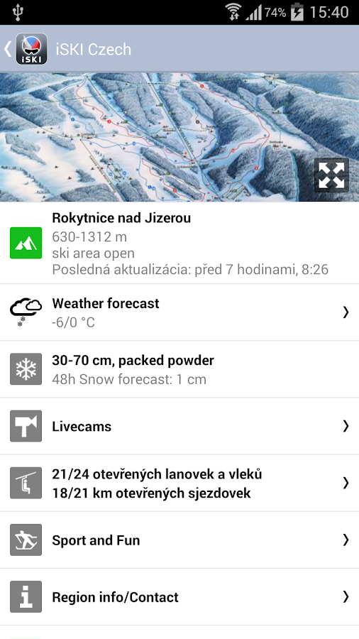 iSKI Czech - screenshot