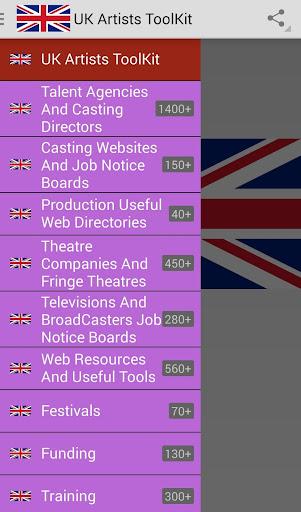 Artiste Toolkit UK