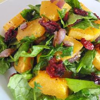 Roasted Butternut Squash with Onions, Spinach, and Craisins®