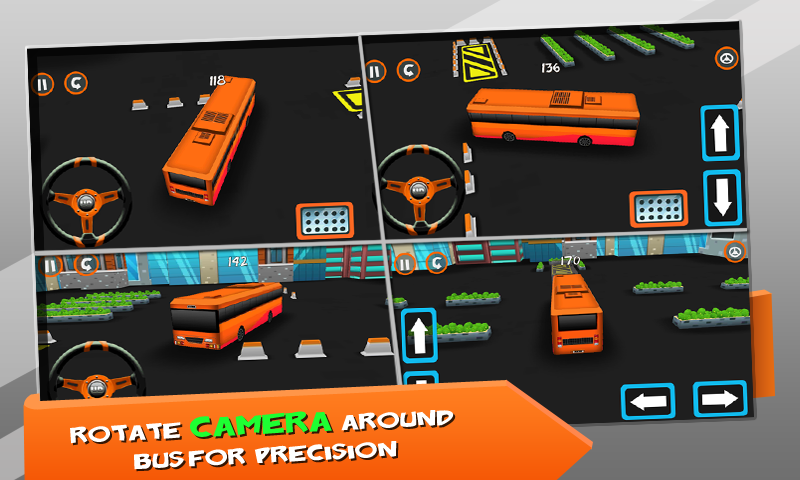 Big Bus Parking- screenshot