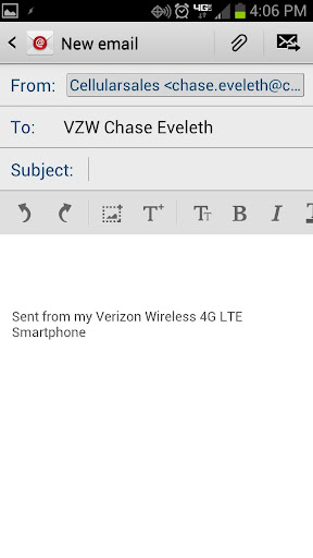 Verizon Chase Eveleth