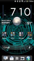 Screenshot of Tech Rings Live Wallpaper Free
