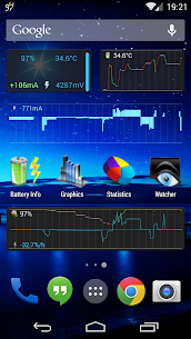3C Battery Monitor Widget Pro v3.24 [Patched] APK 1