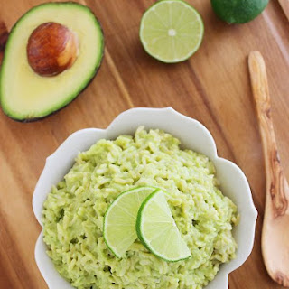 Avocado Lime Rice.