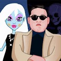 Monster High For Gangnam Style icon